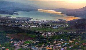 عکس/ نمایی رویایی از شهر منجیل گیلان