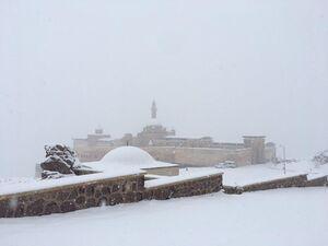 بارش برف پاییزی در ترکیه