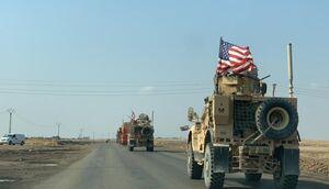 ۵۵ کامیون حامل تجهیزات نظامی آمریکا سوریه را ترک کردند