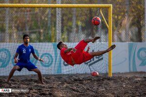 عکس/ تمرین تیم ملی فوتبال ساحلی ایران