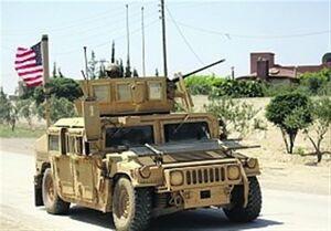 خروج ۵۵ خودروی نظامی آمریکا از سوریه به سمت عراق