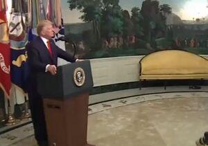 فیلم/ باجخواهی ترامپ از سوریه در روز روشن!