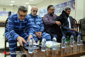 عکس/ ششمین دادگاه اتهامات علی دیواندری