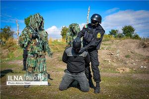 مانور حمله تروریستی در قزوین
