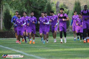عکس/ شادابی بازیکنان استقلال در تمرین