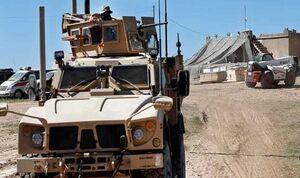 کاروان نظامی آمریکا در مسیر سوریه به عراق هدف حمله قرار گرفت
