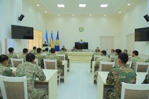 آموزش نظامیان ازبکستان توسط کارشناسان ترکیه+عکس