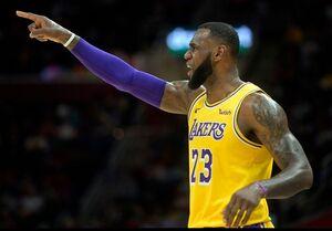 رکورد جدید پادشاه NBA