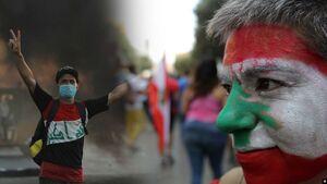 تظاهرات عراق و لبنان