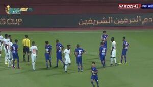 فیلم/ ورود مار به زمین فوتبال در لیگ عربستان