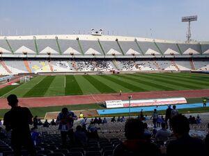 عکس/ حالوهوای ورزشگاه پیشاز بازی استقلال
