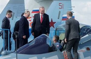 اردوغان گزینه خرید جنگنده «سوخو-۳۵» را مدنظر دارد