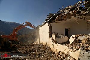عکس/ تخریب ۷ خانه غیر مجاز در گرگان