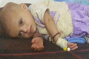 سربازی که در اعتراض به کشتن کودک یمنی سوت میزد