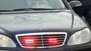 برخورد پلیس راهور با خوردوهای چراغ چشمک زن