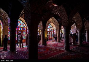 عکس/ زیباترین مسجد شیراز