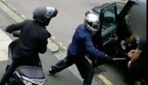 فیلم جدید از حمله سارقان به خودروی اوزیل