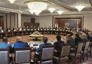 نشست سران سیاسی اقلیم کردستان عراق