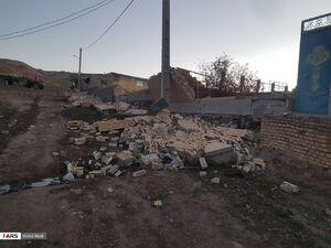 فیلم/ مناطق زلزلهزده آذربایجان شرقی
