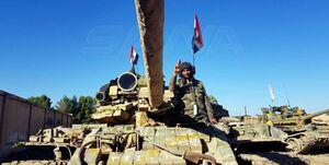 ارسال تجهیزات ارتش سوریه به مرز با ترکیه +عکس