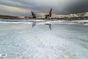 عکس/ کار در معدن نمک