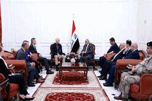 دیدار نخست وزیر عراق با هیأت آمریکایی