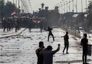 فرمانده عملیات بغداد: ۹ روز است که استفاده از گاز اشکآور متوقف شده است