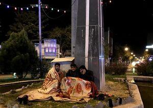 وحشت مردم از احتمال وقوع زمین لرزه در تبریز