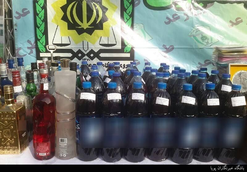 پلیس 110 , مشروبات الکلی ,