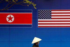 پرچم نمایه آمریکا و کره شمالی