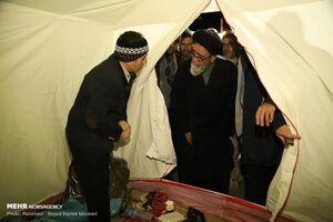 عکس/ ابلاغ پیام همدردی رهبرانقلاب به زلزلهزدگان