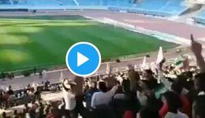 شعار مشهدیها در ورزشگاه امام رضا(ع) +فیلم
