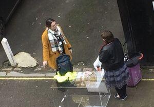 تلاش ناکام برای برگزاری تظاهرات مقابل سفارت ایران در لندن +عکس