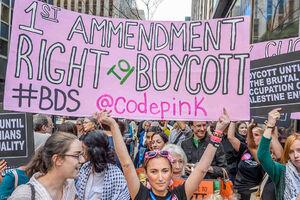 آمریکا در دوراهی آزادی بیان: جنبش قانونی بایکوت اسرائیل زیر ضربات دولت و لابی صهیونیستی