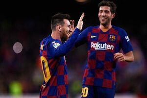 فیلم/ خلاصه دیدار بارسلونا ۴-۱ سلتاویگو؛ هتتریک مسی