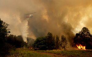 شرق استرالیا در محاصره آتش