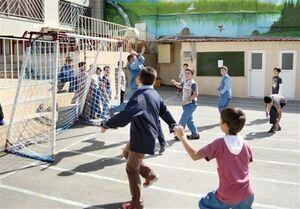 ممنوعیت فعالیتهای بدنی در فضای باز مدارس تهران تا ۶ آذر
