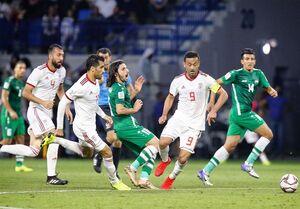 تیم های ملی فوتبال ایران - عراق