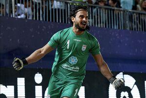 اتفاق عجیب در تیم ملی ساحلی ایران +عکس