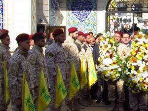 حزب الله لبنان در روز بزرگداشت شهدا - کراپشده