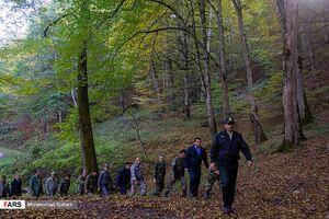 عکس/ دستگیری حفاران و متجاوزان «جنگل های هیرکانی»