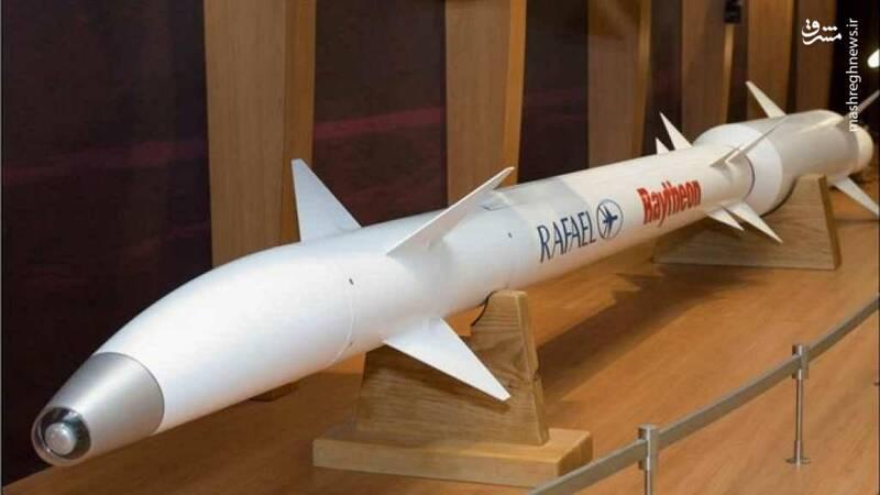 آیا  موشک پیشرفته اسراییلی به دست مقاومت رسیده است؟