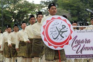 عکس/ جشن میلاد پیامبر(ص) در مالزی