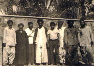 تصویری از رهبرانقلاب در دوران تبعید در ایرانشهر