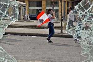 نقش زنان را در تظاهرات لبنان دست کم نگیرید+ تصاویر