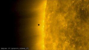 عکس/ رصد پدیده نادر نجومی