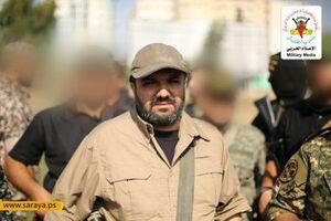 تصاویری از فرمانده شهید فلسطینی امروز