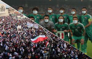 بازیکنان عراق قبل از بازی با ایران ماسک بزنند!