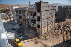 عکس/ بازسازی واحدهای مسکونی زلزله زده سرپل ذهاب