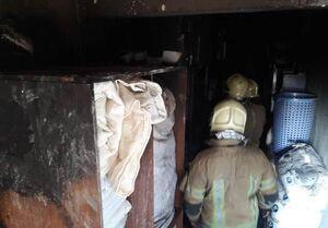 علت آتشسوزی در مجتمع ۷ طبقه اقامتی +تصاویر